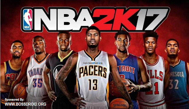 Download Game NBA 2K17 Mod APK+DATA OBB Unlimited Money for Android