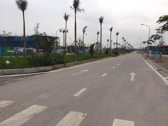 Hình ảnh cảnh quan và xây dựng dự án Uông Bí New City