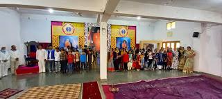 बाल विकास के बच्चों को लेकर आध्यात्मिक पिकनिक यात्रा का हुआ आयोजन