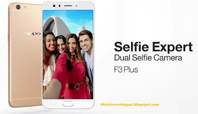 Spesifikasi Oppo F3 Plus Selfie Expert