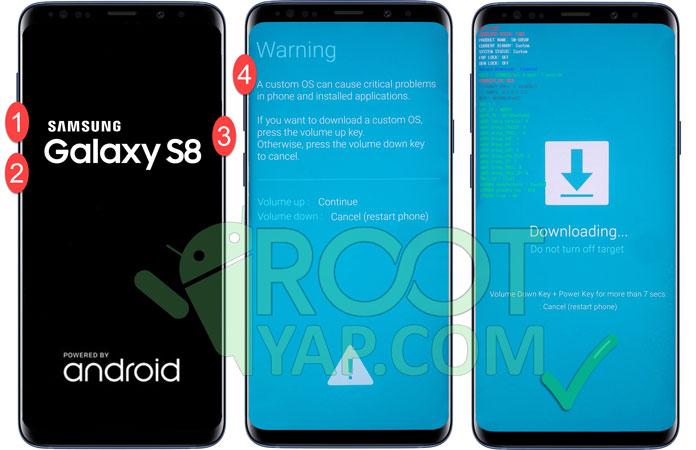 Samsung Galaxy S9 Plus Root Yapma , TWRP Yükleme