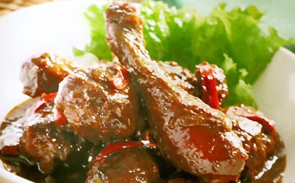 Resep Ayam Kecap Pedas Gurih