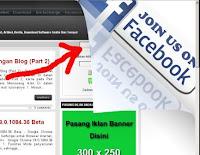 Cara membuat peel banner tepat di pojok blogspot