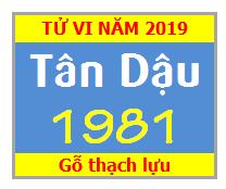 Tử Vi Tuổi Tân Dậu 1981 Năm 2019 Nam Mạng - Nữ Mạng