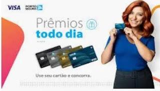 Cadastrar Promoção Cartão Porto Seguro Prêmios Todo Dia