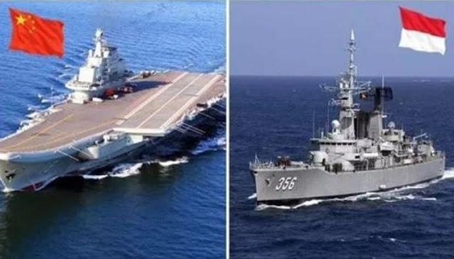 Perbandingan Kekuatan Antara Militer China dan Indonesia