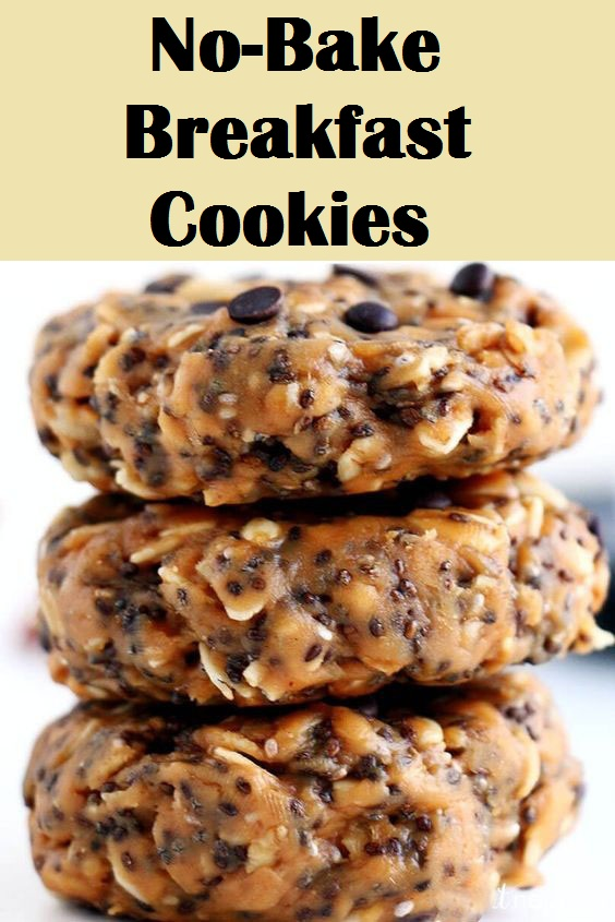 No-Bake Breakfast Cookies