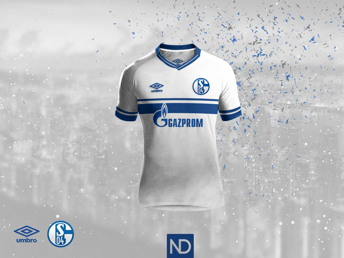 Based on the same template as the home jersey 6f4a89e21