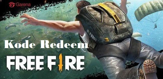 Kode Redeem Resmi Free Fire