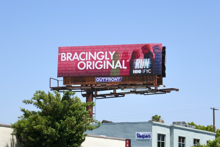 Run Emmy FYC billboard