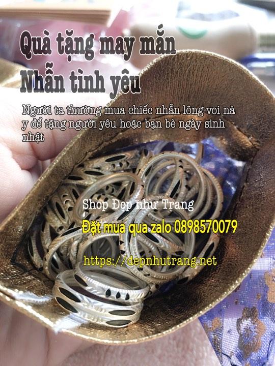 Quảng cáo bán nhẫn lông voi
