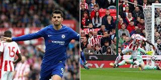 Video Gol Stoke City vs Chelsea 0-4