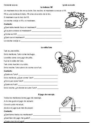 114 Lecturas Cortas Para Niños
