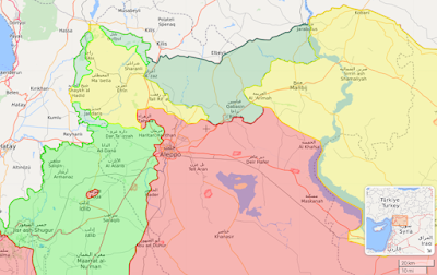 Assad's military forces have come to Afrin to help the Kurds against the Turks