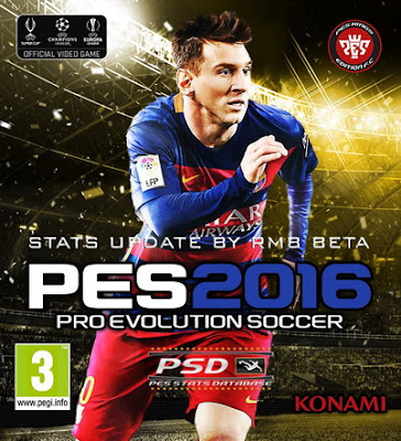 PES 2016 PSD Stats for PTE 4.1 by RMB