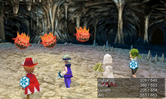 the once peaceful land has forever been changed by the great tremor Final Fantasy III-RELOADED