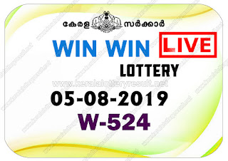 KeralaLotteryResult.net, kerala lottery kl result, yesterday lottery results, lotteries results, keralalotteries, kerala lottery, keralalotteryresult, kerala lottery result, kerala lottery result live, kerala lottery today, kerala lottery result today, kerala lottery results today, today kerala lottery result, Win Win lottery results, kerala lottery result today Win Win, Win Win lottery result, kerala lottery result Win Win today, kerala lottery Win Win today result, Win Win kerala lottery result, live Win Win lottery W-524, kerala lottery result 05.08.2019 Win Win W 524 05 August 2019 result, 05 08 2019, kerala lottery result 05-08-2019, Win Win lottery W 524 results 05-08-2019, 05/08/2019 kerala lottery today result Win Win, 05/8/2019 Win Win lottery W-524, Win Win 05.08.2019, 05.08.2019 lottery results, kerala lottery result August 05 2019, kerala lottery results 05th August 2019, 05.08.2019 week W-524 lottery result, 5.8.2019 Win Win W-524 Lottery Result, 05-08-2019 kerala lottery results, 05-08-2019 kerala state lottery result, 05-08-2019 W-524, Kerala Win Win Lottery Result 5/8/2019