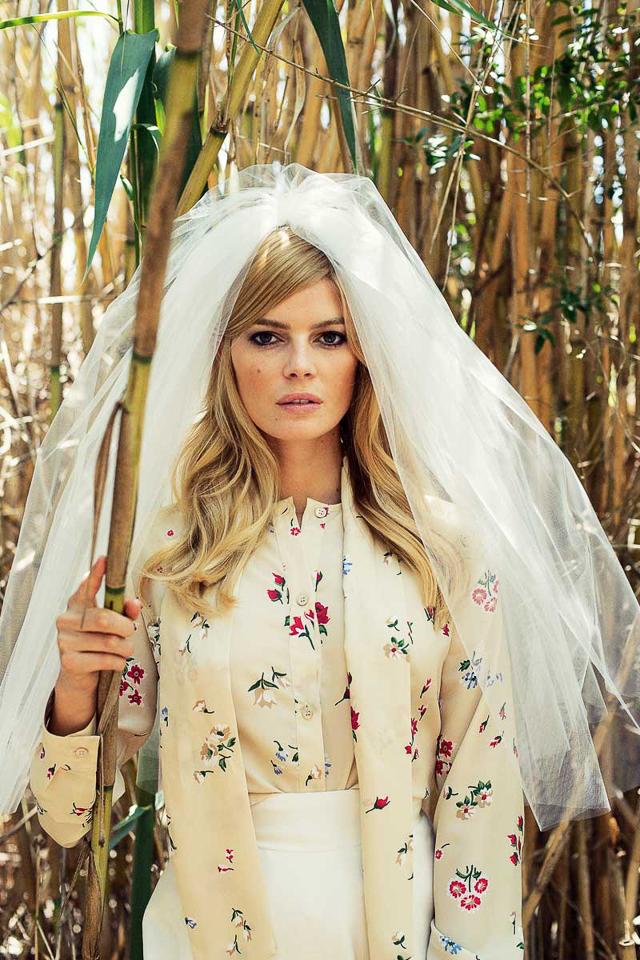 vestido flores novia boda blog wedding dress floral