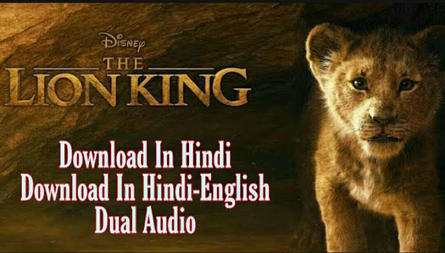 The Lion King 2019 Movie Download In Hindi