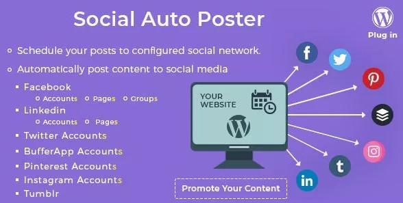Free Social Auto Poster v3.1.0 – WordPress Plugin