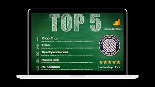 TOP 5 Barber Shop png