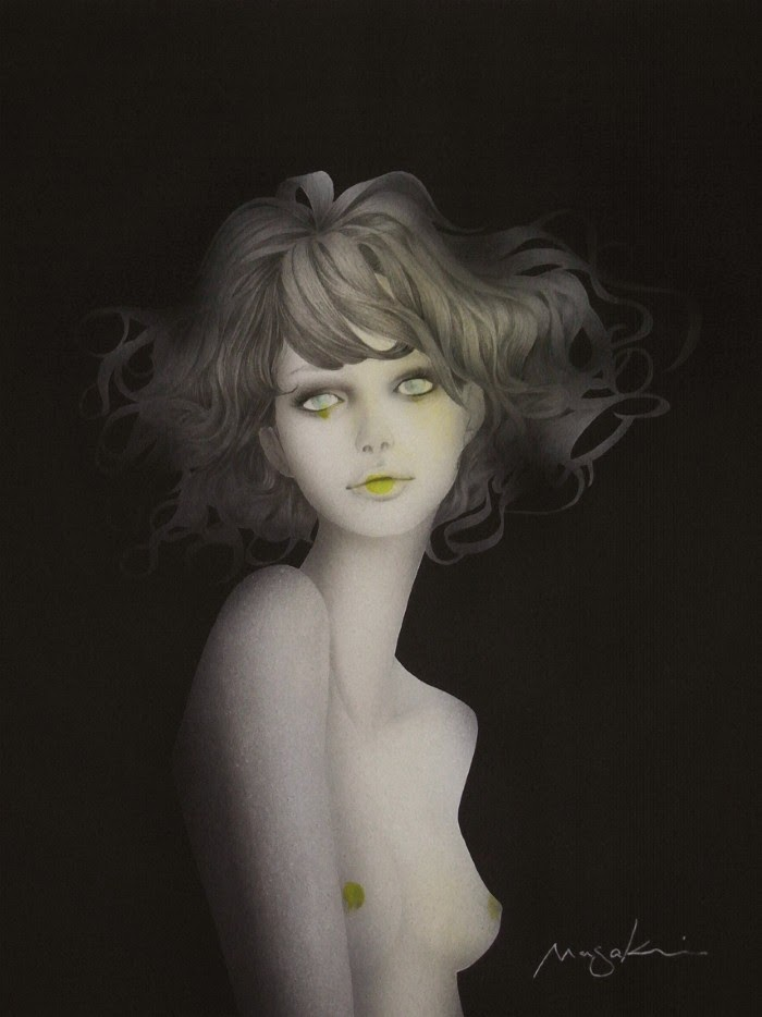 Художник и иллюстратор. Masaki Mizuno