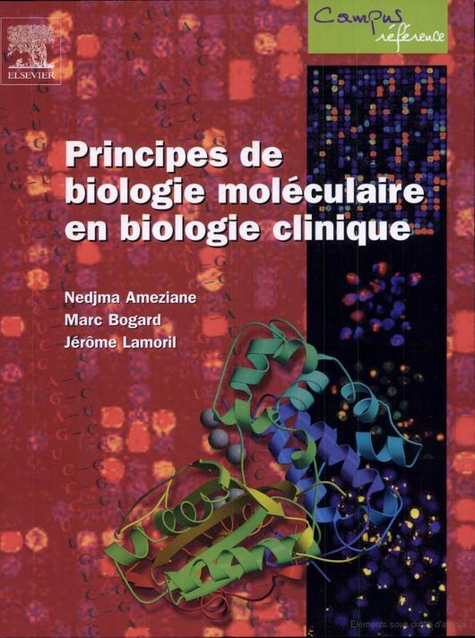 Livre Principes de biologie moléculaire en biologie clinique  PDF