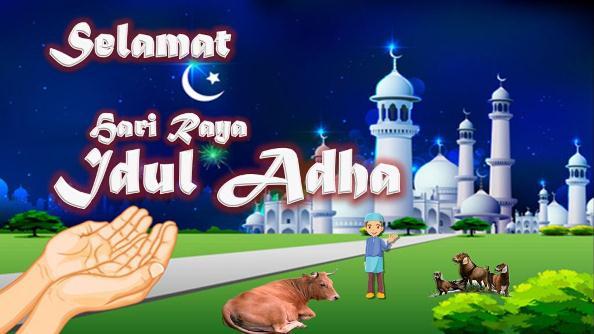 DP BBM Ucapan Selamat Lebaran Idul Adha
