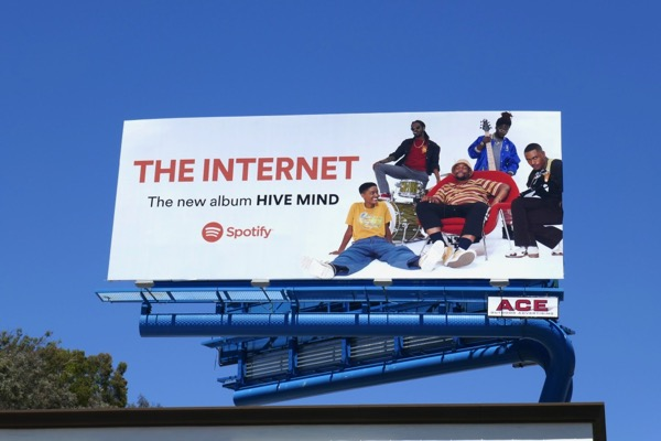 Internet Hive mind Spotify billboard