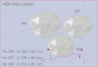 Hộp nhựa kim cương
