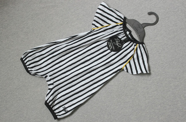 Baby K Black and White Stripe Romper Review