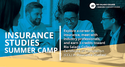 Insurance Studies Summer Camp Header Graphic
