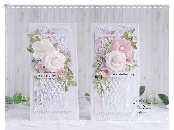 Wedding card with Macrame Video Tutorial