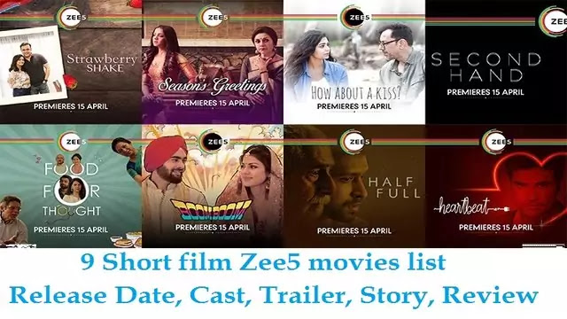 9 Short film Zee5 movies list 2020 - Release Date, Cast, Trailer, Story, Review