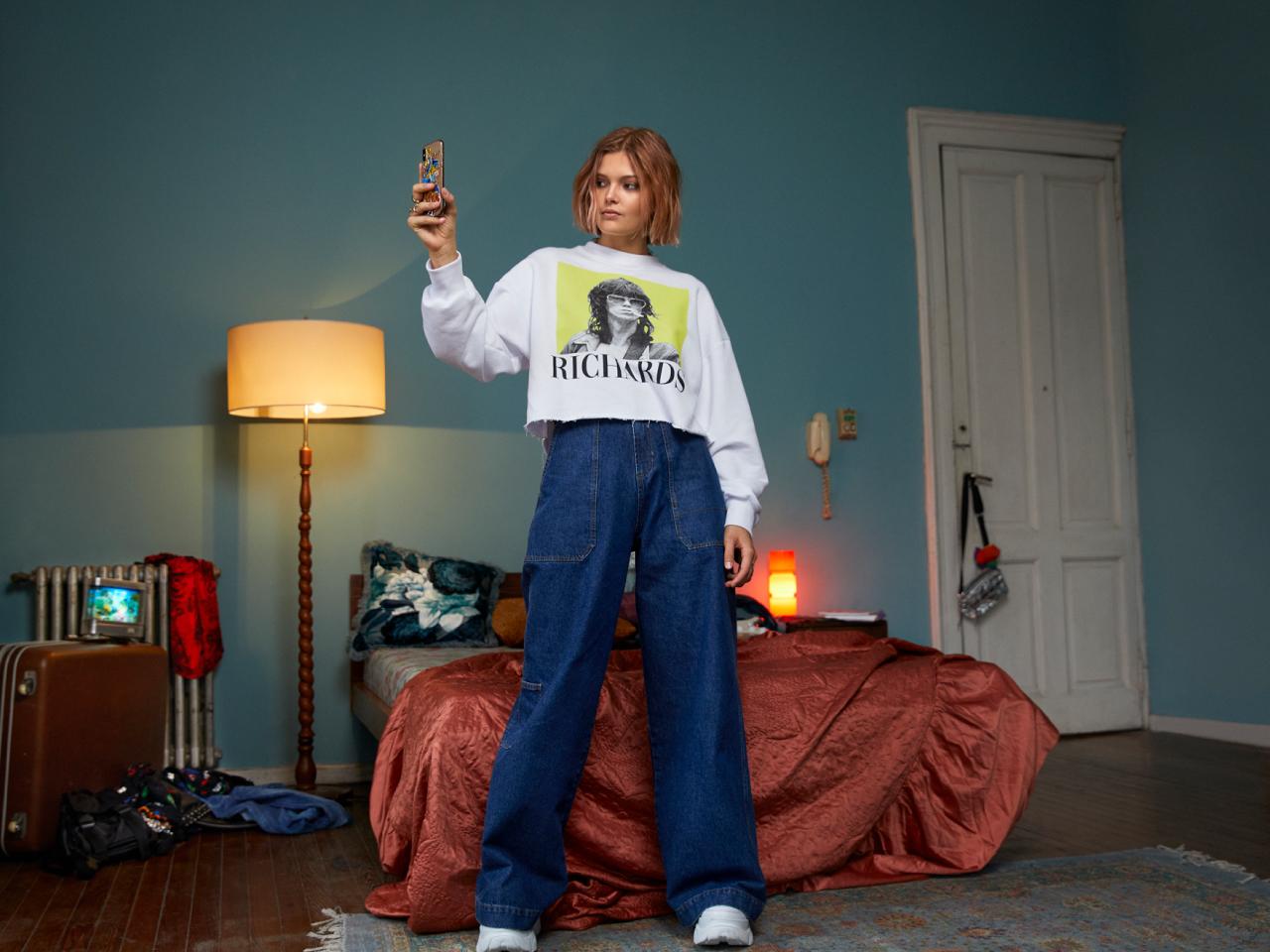 Moda invierno 2020 pantalones de jeans.