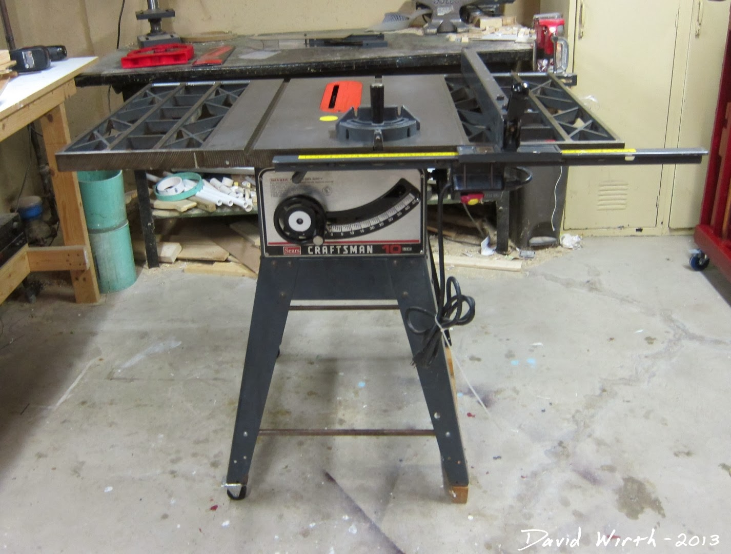 Craftsman table saw manual