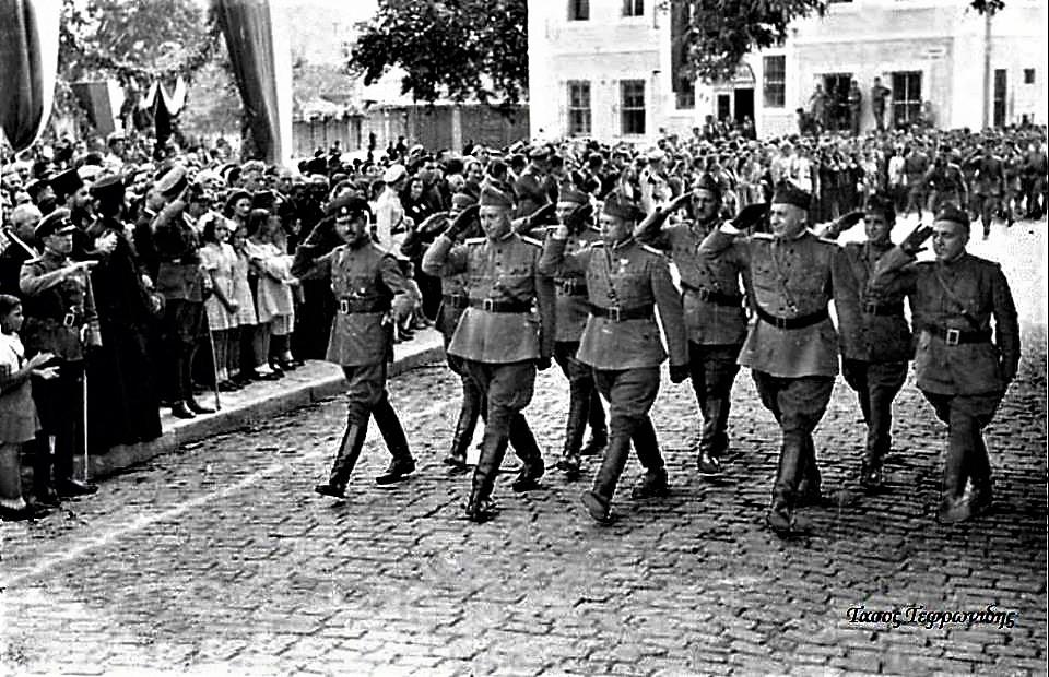 *Η Ξάνθη το 1942 υπό Βουλγαρική κατοχή (Φωτογραφία Τάσου Τεφρωνίδη)