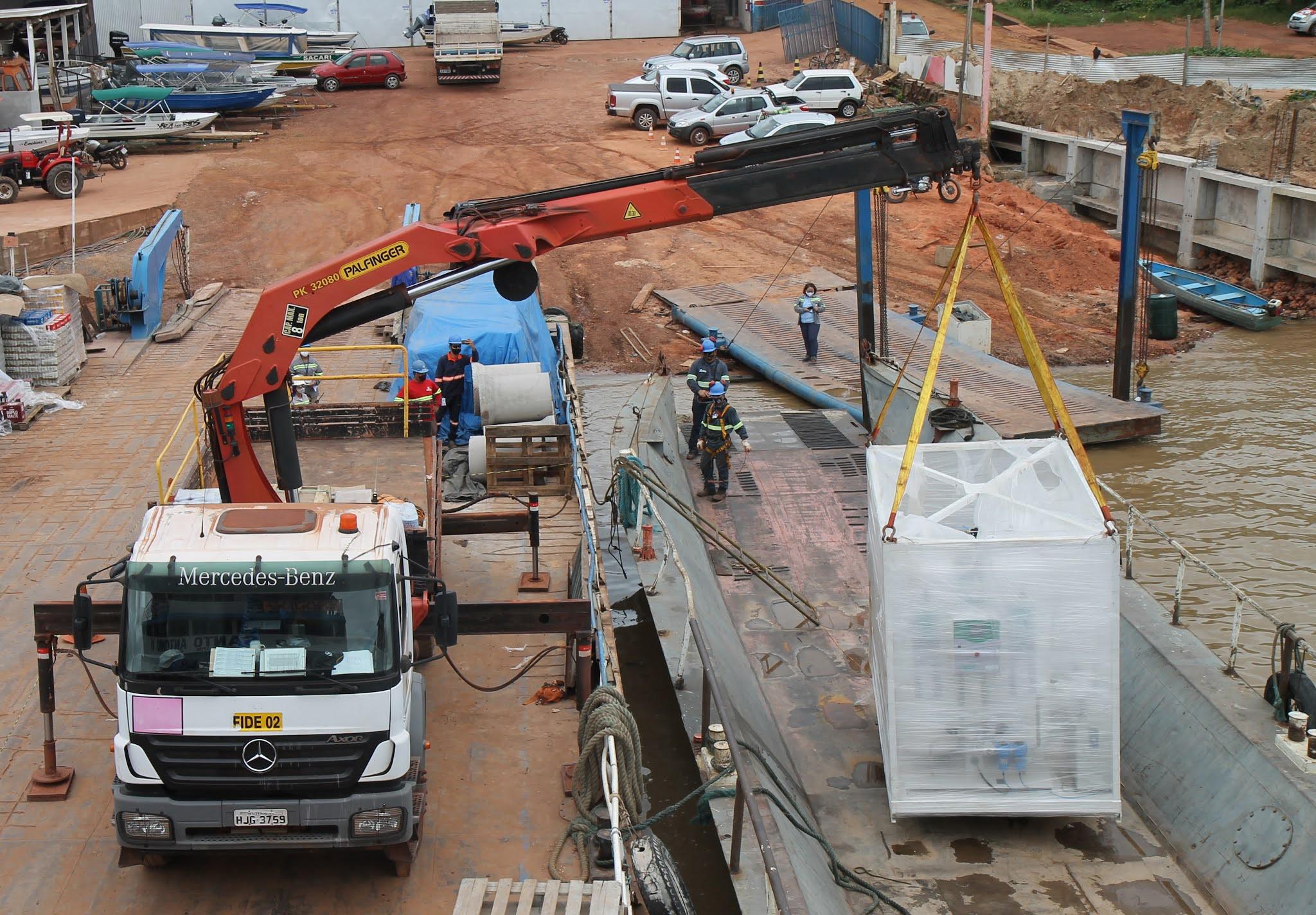 Alcoa aluga usina de oxigênio para abastecer os 2 hospitais de Juruti