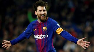 """لاعب وقائد نادي برشلونة الإسباني """" ليونيل ميسي """""""