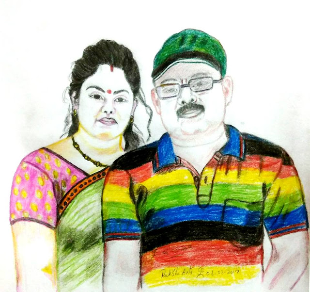 PENCIL DRAWING - RAKHI BISWAS