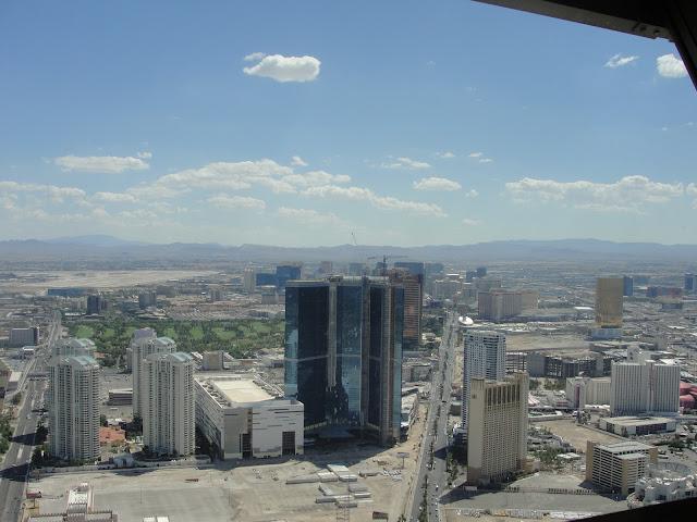 Vista da Torre do Stratosphere.