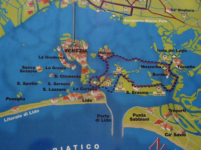 Venezia a ostrovy kolem