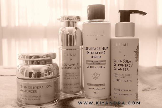 Review Skincare Lokal Untuk Wajah Berjerawat dan Berminyak