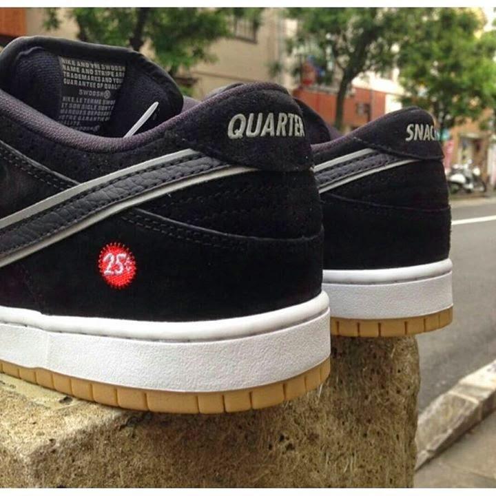 sports shoes 937fa ab9dd Quartersnacks x Nike SB Dunk Low