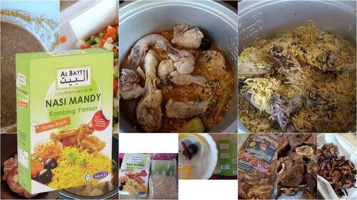 Resepi nasi arab mandy simple