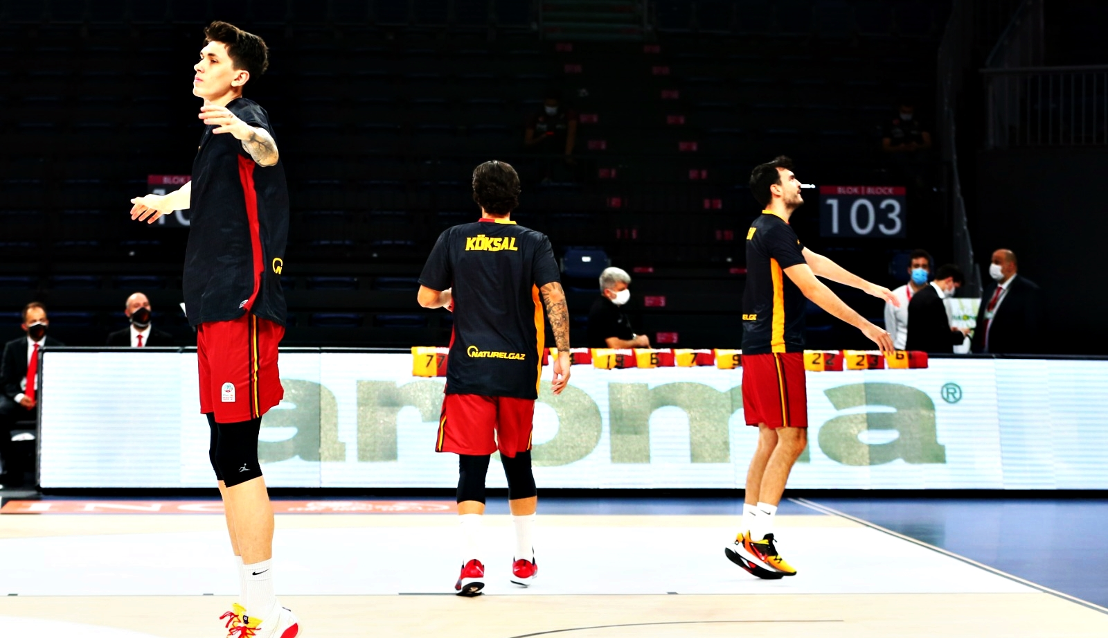 Galatasaray'da derbi hazırlıkları tamamlandı.