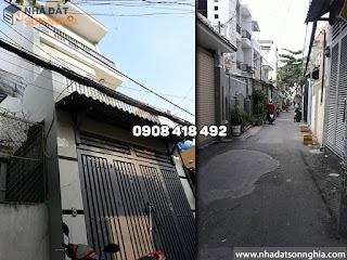 Bán nhà Gò Vấp 1 trục Phạm Văn Chiêu phường 9 - 4x11m giá 4 tỷ (ms067)