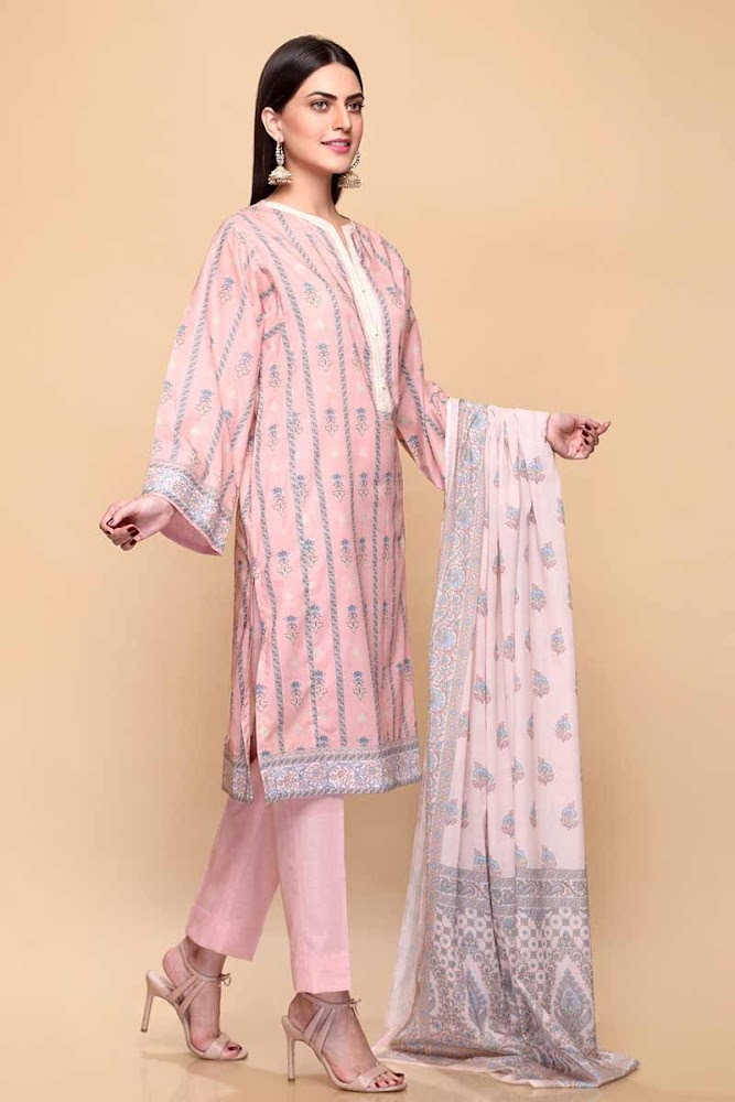 Gul Ahmed Pink Suit Mother's Collection