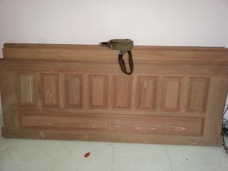 Rumah Idaman : Cat Alas Pintu Utama, Pintu Bilik, Pintu Dapur