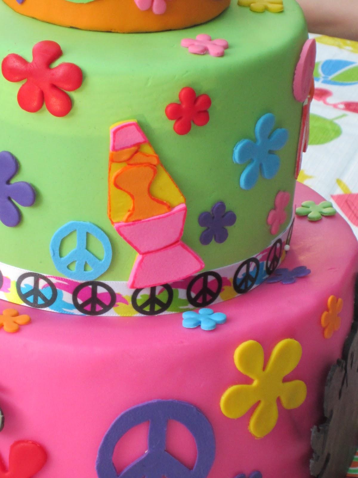J's Cakes: 70s Birthday Cake